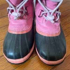 Sorel Shoes - Sorel Pink Women's Winter Boots Size 7